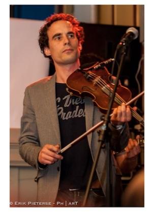 Christiaan tijdens Haarlems Zang Festival